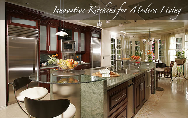 Kitchen Designer And Interior Designer Orange County By Design - Interior-designed-kitchens
