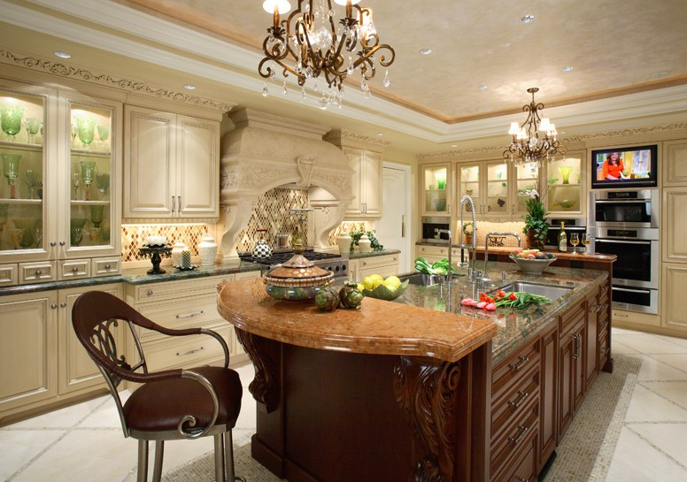 Traditional kitchen design by design kitchens etc orange for Southern kitchen design